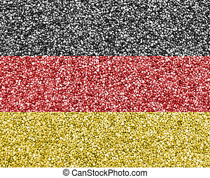 Textured flag of Germany in nice colors