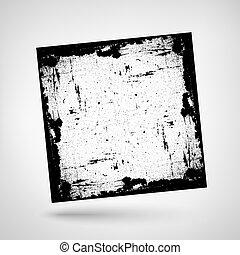 Textured Frame Grunge