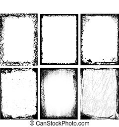 Textured Frames - Set of different frames & textures.