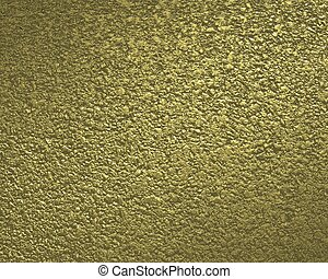 Textured gold background.