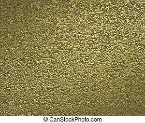 Textured gold background.