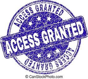 textured, granted, 切手, シール, アクセス, グランジ