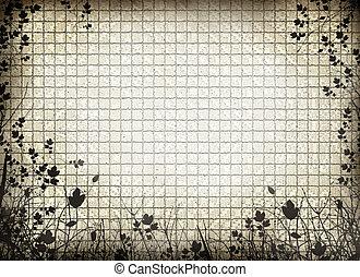 textured grid background