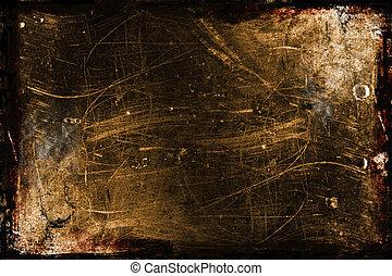 Textured Grunge Background with border / frame