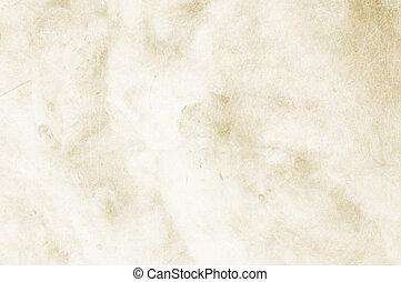 textured, klar, beiger hintergrund, mit, raum, für, text,...