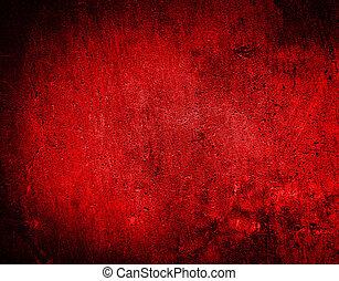 textured, noël, fond, rouges