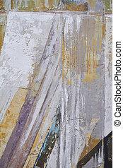 textured, pintura, frío, foco, tono, selectivo, plano de fondo