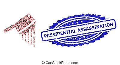 Textured Presidential Assassination Stamp and Recursion ...