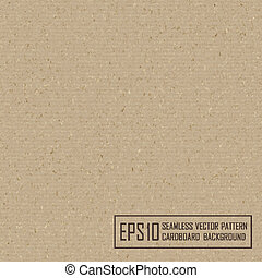 Textured recycled cardboard with natural fiber parts