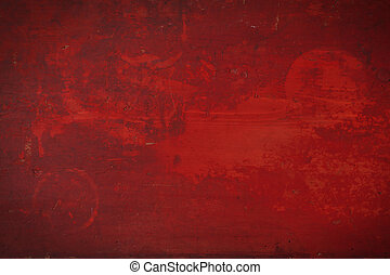 red grunge background.