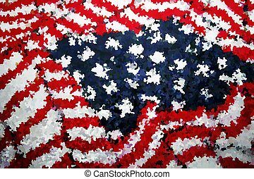 Textured rug American Flag pattern - cool American Flag...
