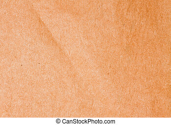 Textured striped crumpled packaging brown paper background
