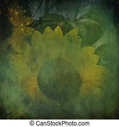 Textured Sunflower