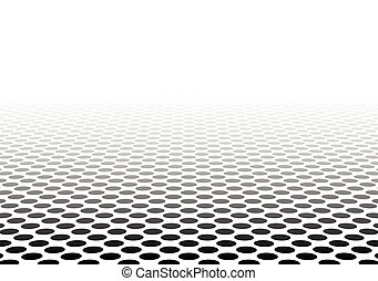 textured, surface., perspectiva