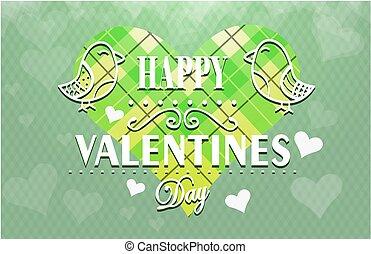 Textured Valentines Day background