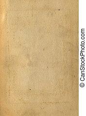 texturen, oud, dekking, boek, papier, pagina's