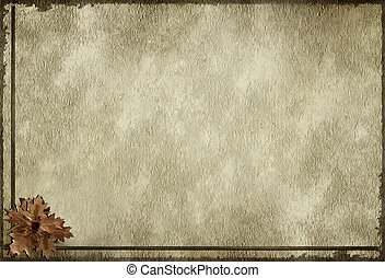 textures background with oak leaf
