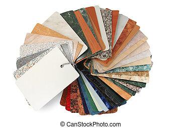 textures, coupure, -, gude, collection, ventilateur, texture, sentier