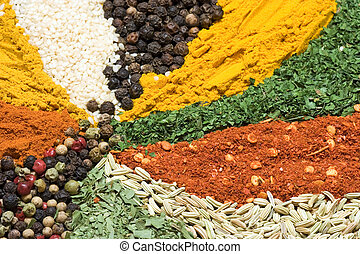 Textures of spice