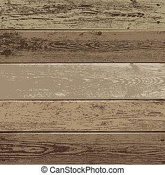 textuur, achtergrond, hout, bruine