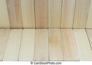 textuur, achtergrond, hout, witte