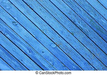 textuur, blauwe , hout, achtergrond, paneel