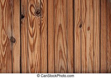 textuur, -, houten raad
