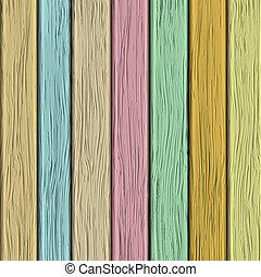 textuur, pastel, oud, houten, tonen