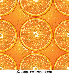 textuur, seamless, sinaasappel, sappig