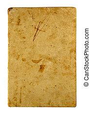 textuur, van, de, oud, antieke , papier