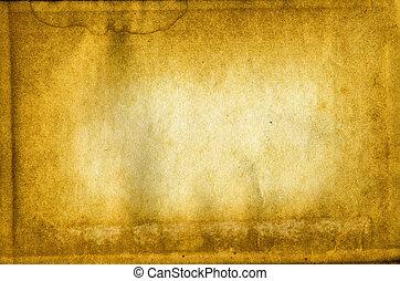 textuur, van, de, oud, papier