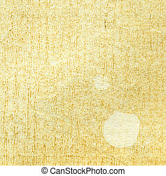 textuur, van, de, oud, papier, met, witte , vlek