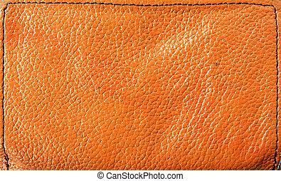 textuur, van, de, rode huid