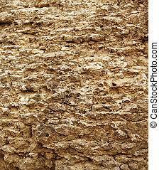 textuur, van, de, steen
