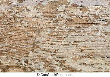 textuur, van, oud, houten raad, achtergrond
