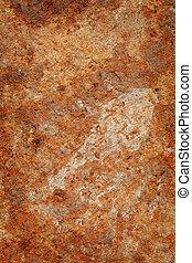 textuur, van, verroest metaal