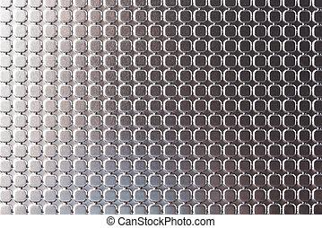 textuur, zilver, achtergrond
