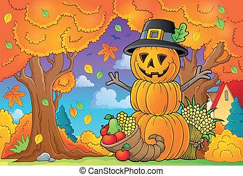thème, 5, thanksgiving, image