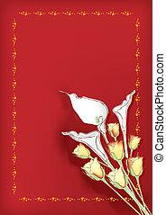 thème, fleurs