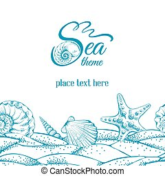 thème, mer