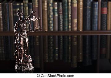 thème, palais justice, –, library.