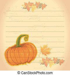 thème, thanksgiving