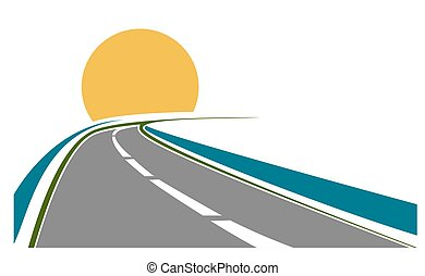 thème, transport, route