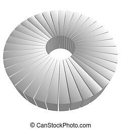thème, visualisation, infographic, tarte, vecteur, graphique...