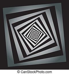théâtral, hellix, résumé, élément, descendre, fond, cadres, sugestion, carrés