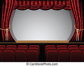 théâtre, étape
