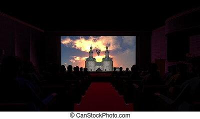 théâtre film, dragon