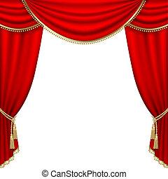 théâtre, stage., mesh.