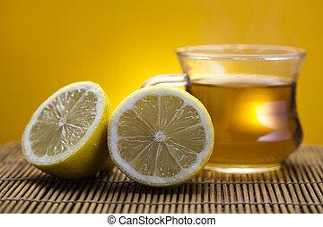 thé, citron