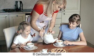 thé, deux